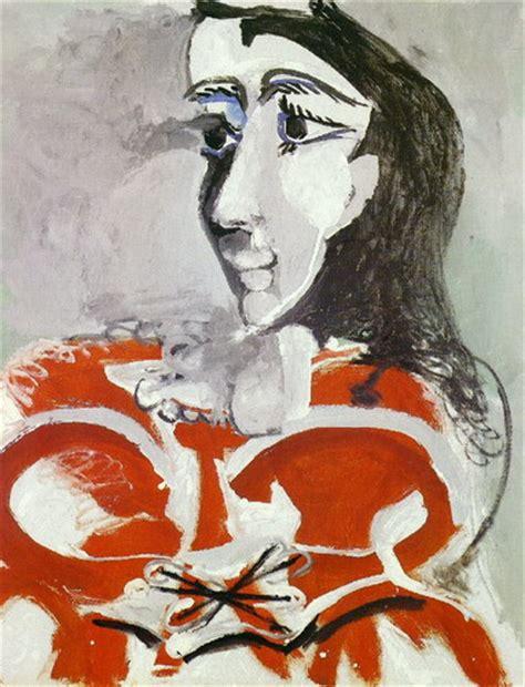 picasso paintings of jacqueline pablo picasso portrait of jacqueline 1965