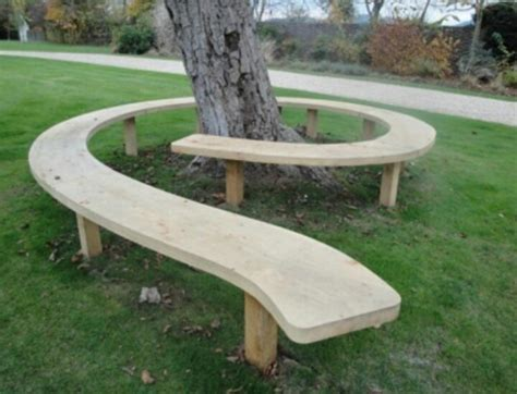 cool benches cool tree bench diy pinterest
