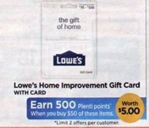 Can You Use Plenti Points To Buy Gift Cards - rite aid 50 lowe s gift card only 45 starting 6 25 ftm