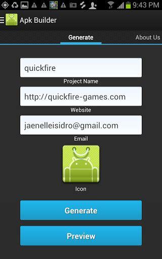 apk builder apk builder per android scaricare gratis