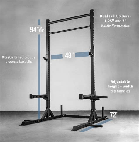 Squat Rack And Pull Up Bar by Rep Squat Rack With Pull Up Bar