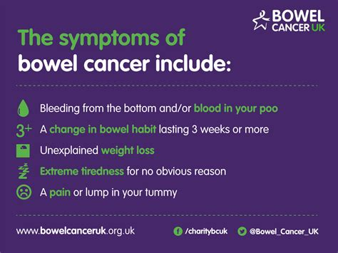 bowel cancer symptoms 183 bowel cancer uk