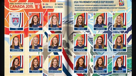 Soccer Stickers Panini panini moving forward with plans for wwc stickers