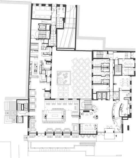 hotel restaurant floor plan 25hours hotel in vienna austria by bwm architekten und