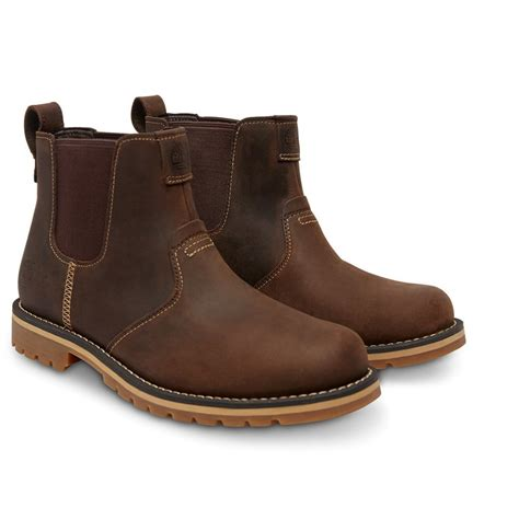 mens boots timberland timberland grantly chelsea leather brown k2