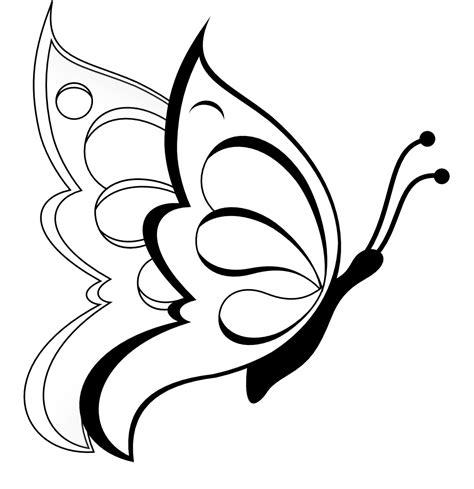 imagenes de mariposas animadas para dibujar pulg 243 n mariposas para colorear