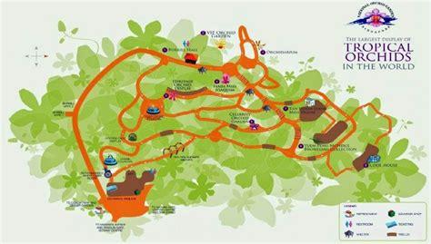 Singapore Botanical Garden Map Detailed Botanic Garden Map Of Singapore Singapore Asia Mapsland Maps Of The World