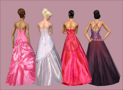ball gown sims 4 mod the sims bruno s boutique presents billowy ball gowns