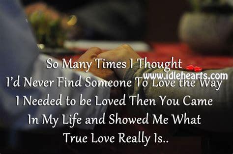 my dear true love you showed me what true love really is dear
