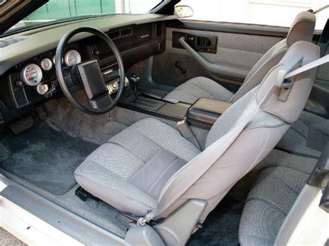 1989 Camaro Interior by Connecticut Parting 87 Iroc Black Interior Third