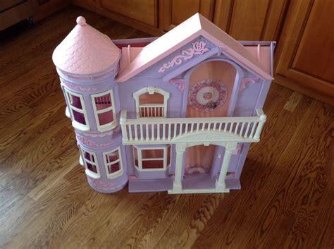 4 story dollhouse with elevator vintage mattel dollhouse 2 story pink