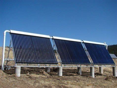 solar water heaters for heating homes pools tubs