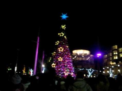 national harbor tree lighting national harbor christmas tree lighting youtube