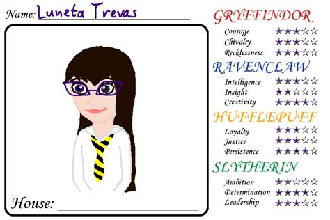 Harry Potter House Meme - hogwarts house meme luneta by squiddleprincess on deviantart