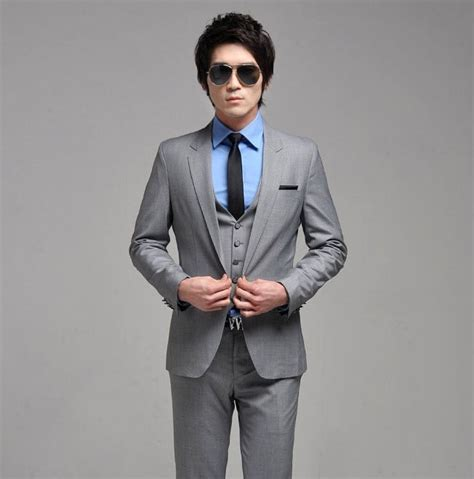 shirt with light grey suit suit tailor best tailor in bangkok