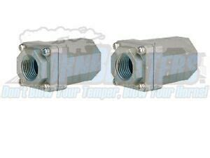 dual pack of smc 1 2 check valves for bags air suspension compressors ebay