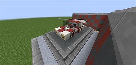 minecraft race car redstone motors chionship race car minecraft project