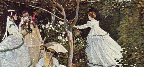 claude monet donne in giardino la passeggiata di monet analisi