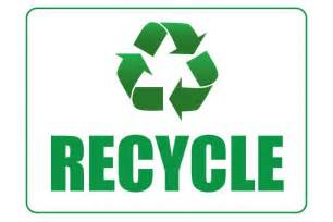 recycle sign template printable recycle sign pdf file free free