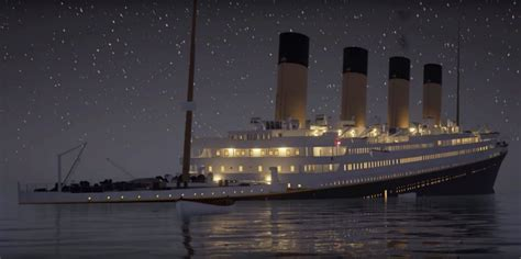 Titanic Sinking Reason by A Real Time Of The Titanic Sinking The Awl