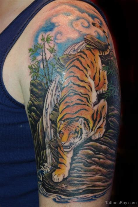 quarter sleeve tiger tattoo tiger tattoos tattoo designs tattoo pictures page 2