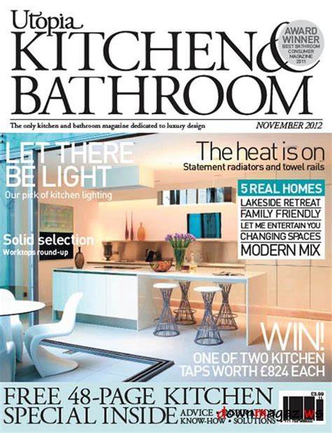 bathroom design magazines utopia kitchen bathroom magazine november 2012
