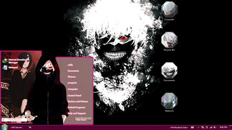 themes for windows 7 tokyo ghoul theme win 7 tokyo ghoul by afifslamet on deviantart