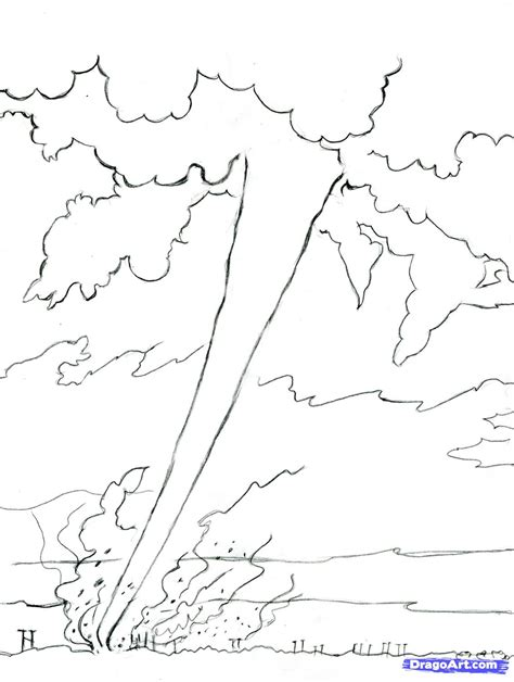 Tornado Coloring Pages Nywestierescue Com Tornado Coloring Pages