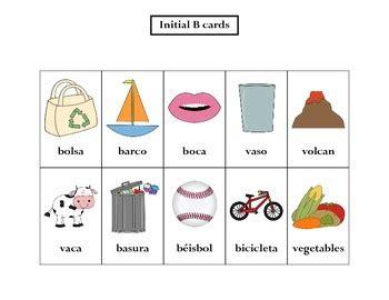 articulation spanish b words by larastachler teachers pay teachers