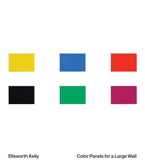 ellsworth colors for a large wall ellsworth monographs and museum exhibition catalogs