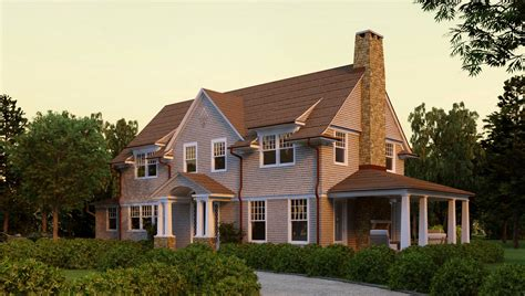 Shingle Style House Plans by Hampton Shingle Style House Plans
