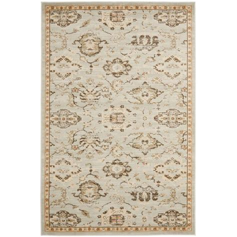 Safavieh Florenteen Rug Safavieh Florenteen Grey Ivory 5 Ft 1 In X 7 Ft 7 In Area Rug Flr128 8012 5 The Home Depot