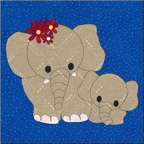 elephant applique template elephant pattern elephant applique block quilt appliqu 233
