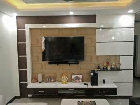 Home Interior Design Tv Unit modern stylish elegant brown white tv unit design by