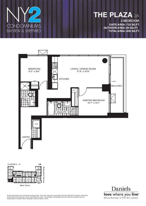 1 rean drive floor plans ny2 condominiums 17 kenaston gardens toronto bayview