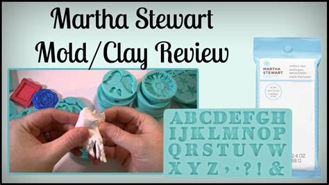 martha stewart molds clay review and a update