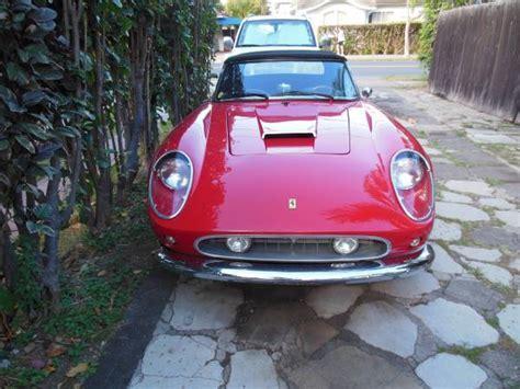 1960 Lamborghini For Sale 1960 250 California Gt Spyder Replica