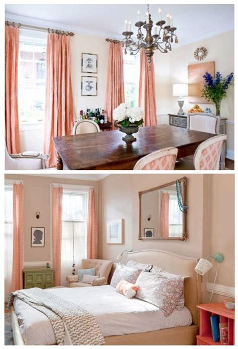peach and aqua bedroom best 25 coral curtains ideas on pinterest peach curtains gold