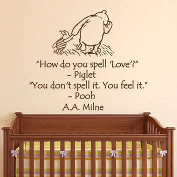 Classic Winnie The Pooh Wall Decals For Nursery Best Classic Pooh Nursery Products On Wanelo