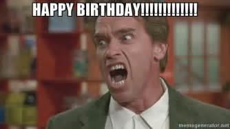 Birthday Meme Generator - happy birthday arnold meme generator