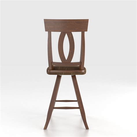 Canadel Stools by Canadel Bar Stools Customizable 24 Quot Upholstered Swivel Stool V Schultz Furniture Bar Stool