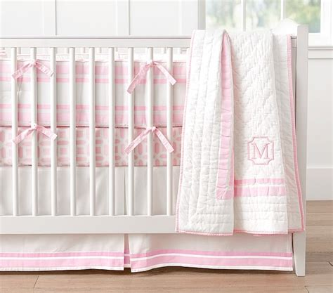 pink nursery bedding sets nursery bedding light pink pottery barn