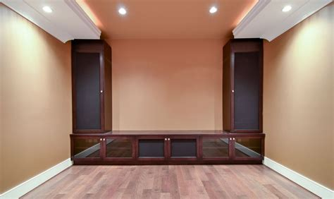 Home Theatre Furniture Cabinets by Built In Home Theater Cabinets Shapeyourminds