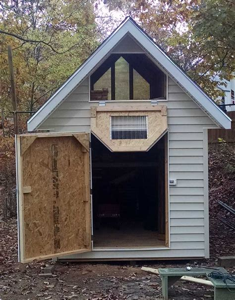 8x12 Metal Shed by Deluxe Gable Roof Shed Photo Gallery