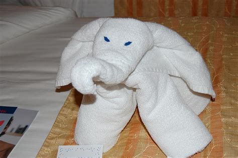 origami towel really cool pics hotel towel origami