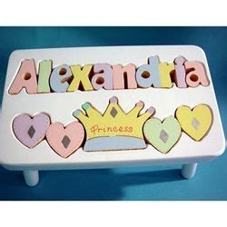 Name Puzzle Step Stool By Melissadoug 111 best baby 1st birthday gifts images on