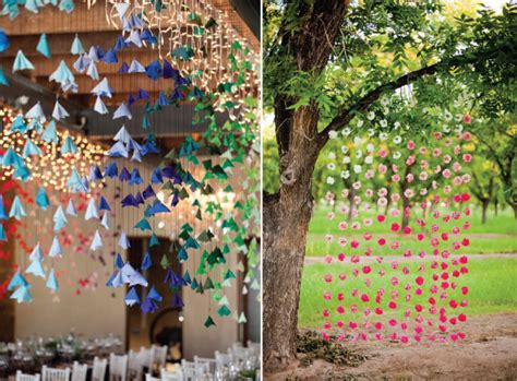 wedding trends hanging wedding decor part 2 belle