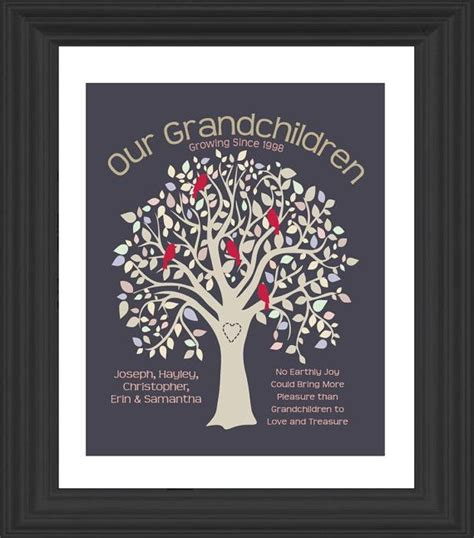 Gift For Grandparents - personalized grandparents gift gift our