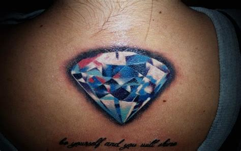 diamond tattoo under breast tatuagem diamante por 2nd face