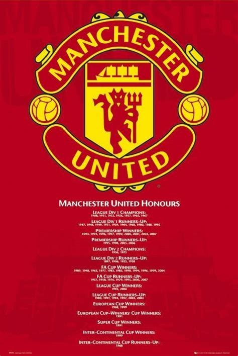 Special For Loyal Ft Readers Save 10 The Fab Selection At Azalea But Act Fast As The Offer Ends Sunday At Midnight 1112 Fashiontribes Fashion by Manchester United Honours Poster Sold At Europosters